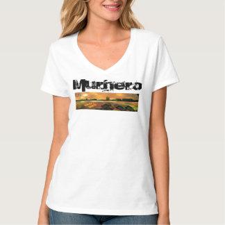 MF womens v-neck t-shirt