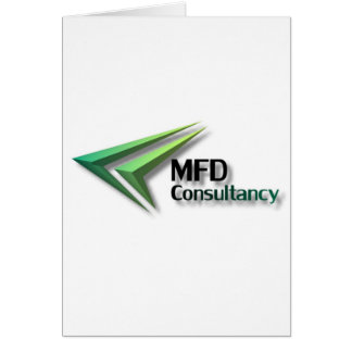 MFD Consultancy Merchandise Greeting Card
