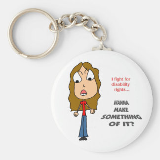 MFH2: I FIGHT FOR DISABILITY RIGHTS KEYCHAIN