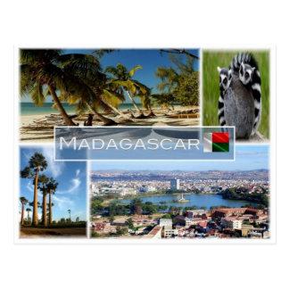 MG Madagascar - Postcard