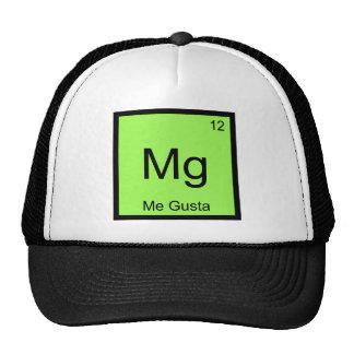 Mg - Me Gusta Chemistry Element Symbol Meme Tee Cap