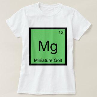Mg - Miniature Golf Funny Chemistry Element Symbol T-Shirt
