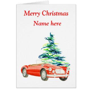 MGA Christmas card, customisable Card