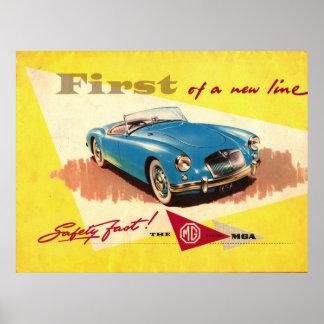 MGA Safety fast mg Poster
