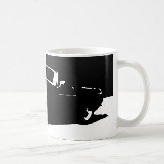 MGB, 1971 - Black on light mug