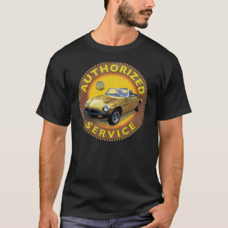 Mgb Rubber bumper service sign T-Shirt