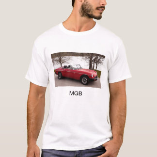 MGB, sports car, british, 1976,red T-Shirt