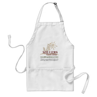 """MGH logo 1, """"Preparing you and your kitchen wit... Standard Apron"""