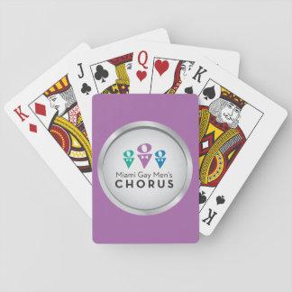MGMC Logo Playing Cards - Purple