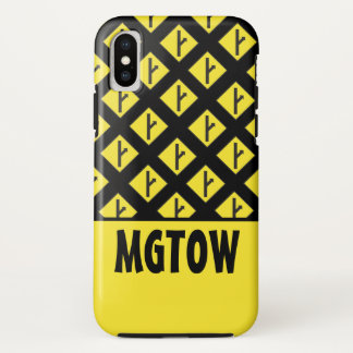 MGTOW - Men Going Their Own Way iPhone X Case