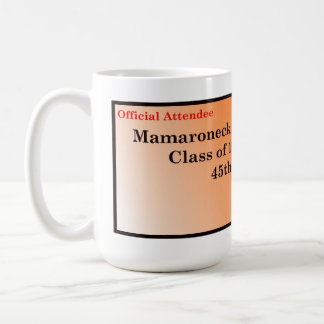 MHS Class of '67 45th Reunion Mug