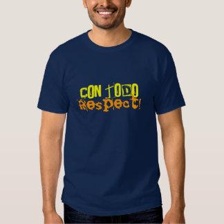 mhvcom TS Con todo Respect! Shirt
