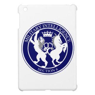 MI6 Logo Button Case For The iPad Mini