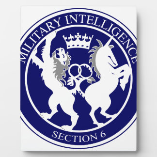 MI6 Logo Button Plaque
