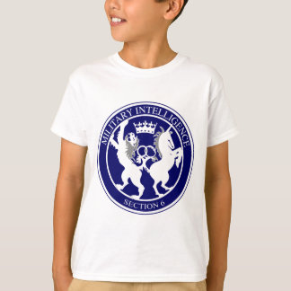 MI6 Logo Button T-Shirt