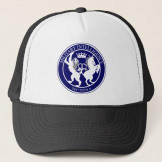 MI6 Logo Button Trucker Hat