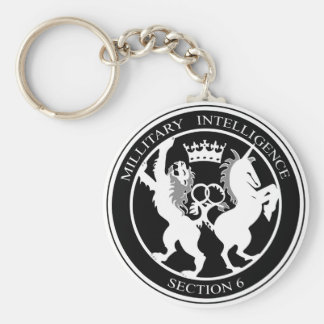 MI6 Logo Key Ring