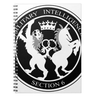 MI6 NOTEBOOK