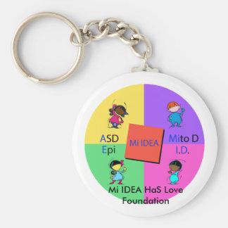 Mi IDEA HaS Love Foundation Keychain