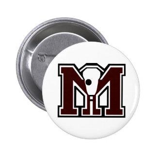 MI Lacrosse Buttons
