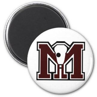 MI Lacrosse Fridge Magnets