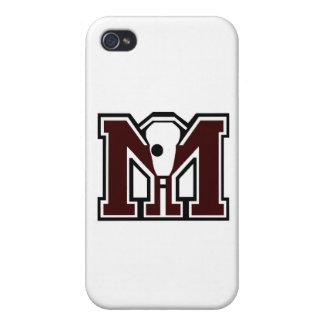 MI Lacrosse Cases For iPhone 4