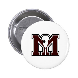 MI Lacrosse Pin