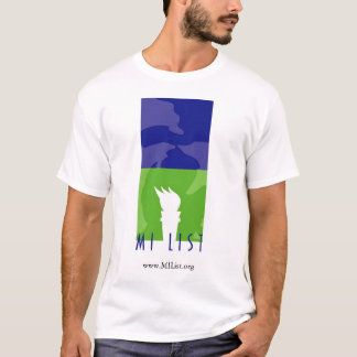 MI List logo t-shirt