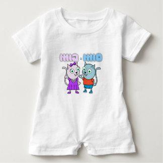 Mia and Mio Baby Bodysuit