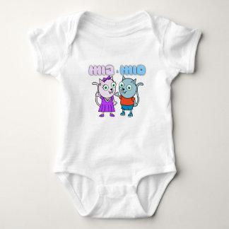Mia and Mio Baby Vest Baby Bodysuit