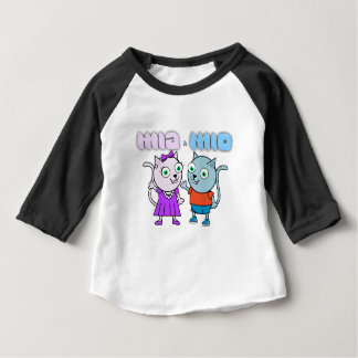 Mia and Mio comestible items Baby T-Shirt