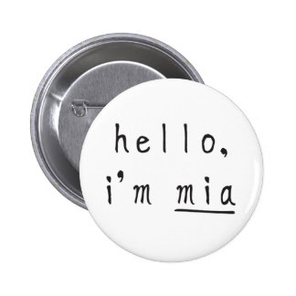 mia, boo & friends button