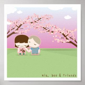 mia, boo & friends poster