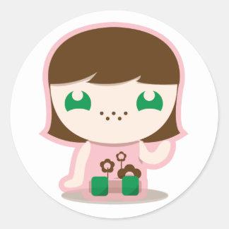 mia, boo & friends sticker