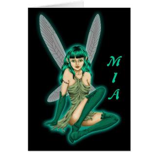 Mia - Friendship Greeting Card