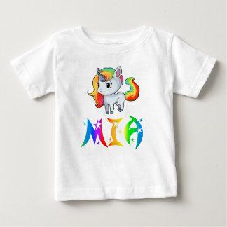 Mia Unicorn Baby T-Shirt