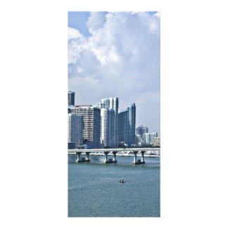 Miam Beach Skyline Rack Cards