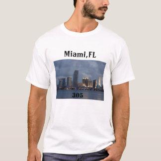 miami-305, Miami,FL, 305 T-Shirt