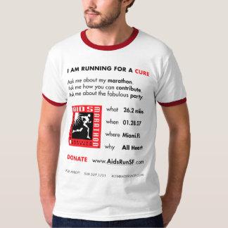 Miami Aids Marathon T-Shirt - Abbott edition