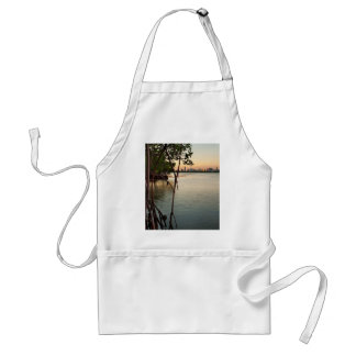 Miami and Mangroves at Sunset Standard Apron