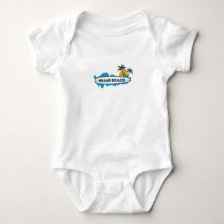 Miami Beach. Baby Bodysuit