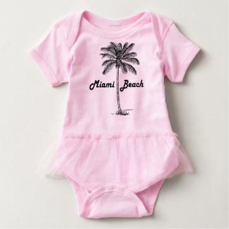 Miami Beach Baby Bodysuit