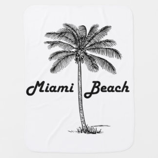 Miami Beach Buggy Blanket