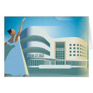 Miami Beach | City Ballet Card
