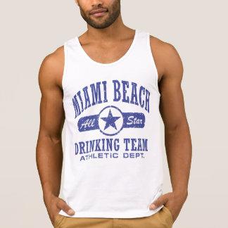 Miami Beach Drinking Team Singlet