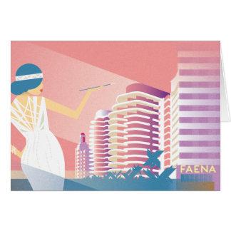 Miami Beach | Faena Card