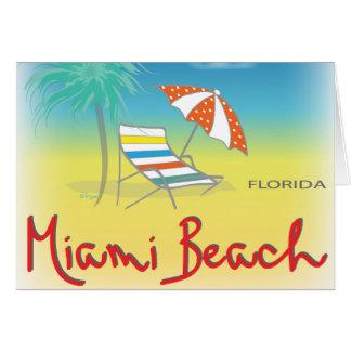 Miami Beach, Florida Card