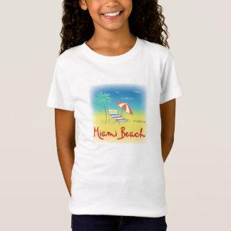 Miami Beach, Florida Fun Beach Themed Colorful T-Shirt