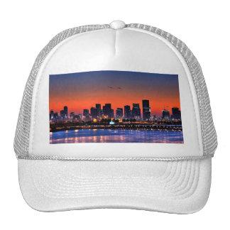 Miami Beach, Florida Mesh Hats