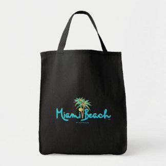 Miami Beach, Florida Palms Black